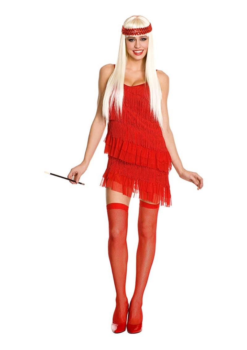 Disfraz Mujer Sm Vestido Rojo Talla Charleston Cabaret kX8wn0OP