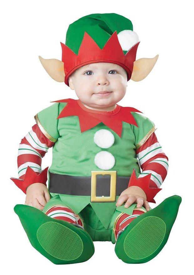 Disfraz navidad ayudante de santa bebe pino angel duende - Traje de duende para nino ...