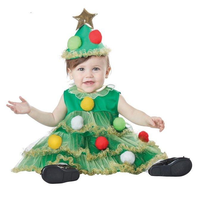 Disfraz navidad ayudante de santa bebe pino angel duende - Disfraz de angel para nino ...