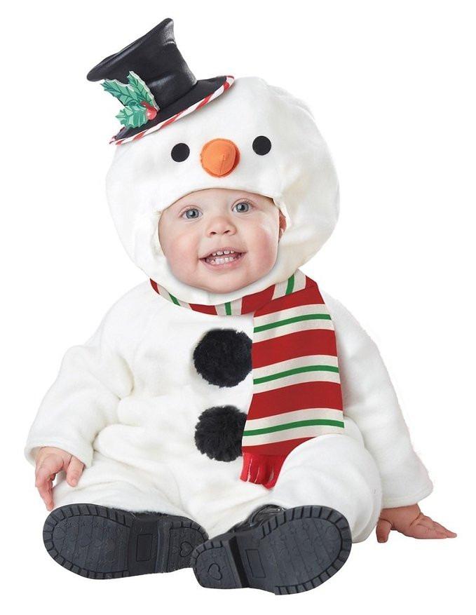 Resultado de imagen de disfraz navidad bebe