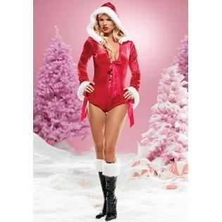 disfraz navidad santa clauss leg avenue