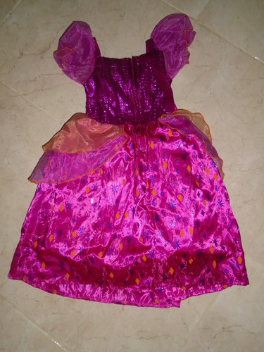 disfraz niña barbie diamante talla 2