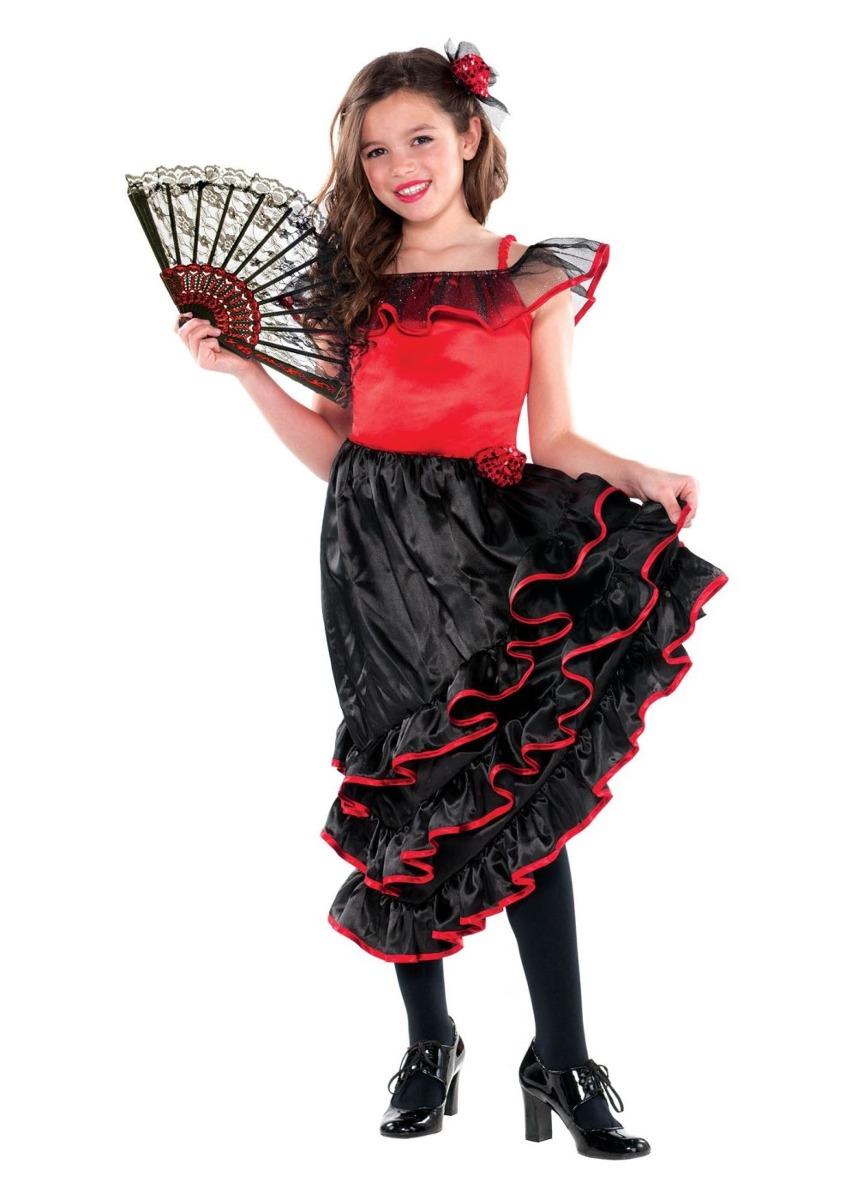 66b931051 Disfraz Para Niña Bailarina De Flamenco Halloween