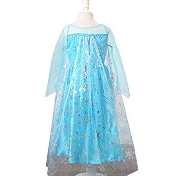 disfraz niña inspirado loel princesa de las muchachas de la