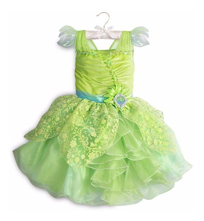 Disfraz Niña Tinker Bell Disney Store Vestido Campanita 2019