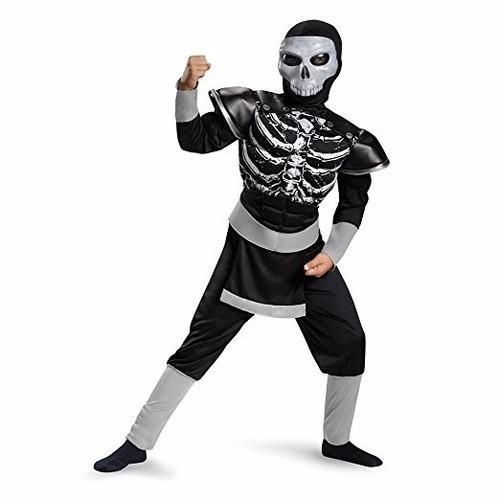 disfraz ninja calavera talla 4-6 *envío gratis