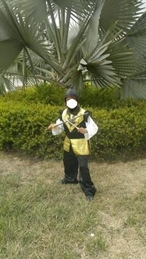 disfraz ninja  traje  completo no es licra , es acolchado