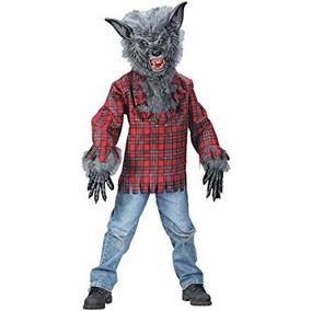 Grande Ni/ños Halloween Hombre Lobo Disfraz 10-12 a/ños