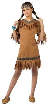 disfraz niño muchacha india americana del traje de niño (pe