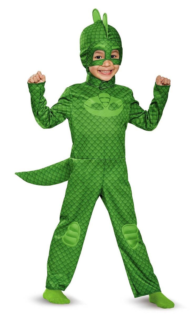 disfraz ni o pj mask gekko traje h roes en pijamas 1 en mercado libre. Black Bedroom Furniture Sets. Home Design Ideas