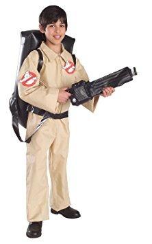 disfraz niño traje de cazafantasmas, pequeño - pequeño
