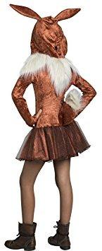 disfraz niño traje de pokémon eevee con capucha para niños