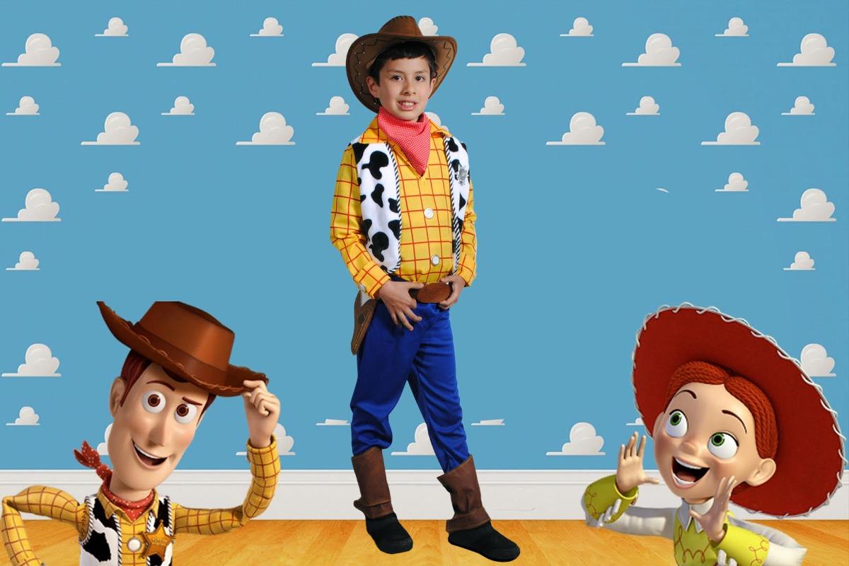 Disfraz Niño Vaquero Woody Toy Story -   80.000 en Mercado Libre 56730f51bac
