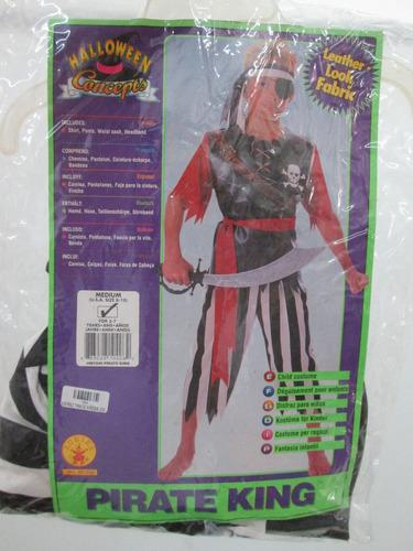disfraz niños halloween pirata