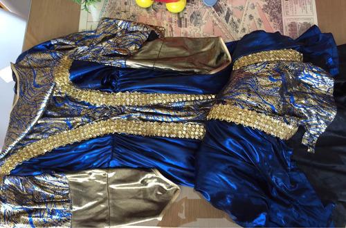 disfraz nuevo de princesa medieval 8-10 años