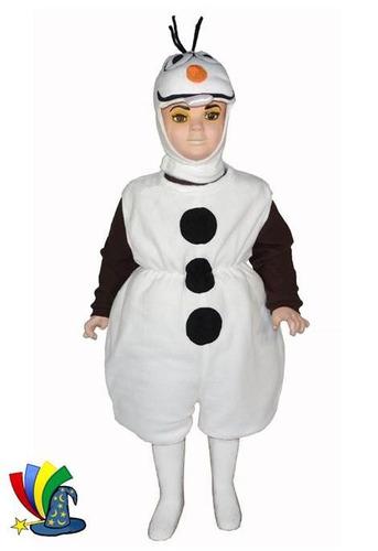 disfraz olaf frozen niño niña tipo botarga modelo disney