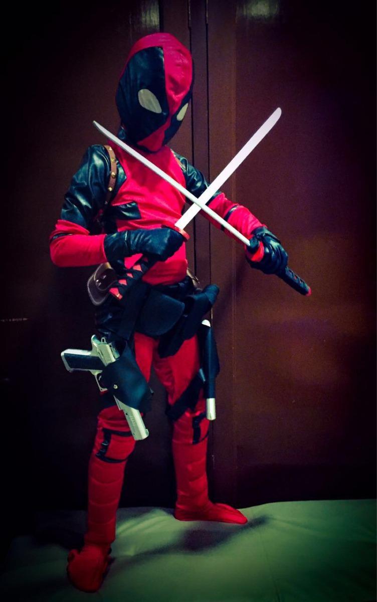 Como Hacer Disfraz De Deadpool Para Niño Hábitos De Niños