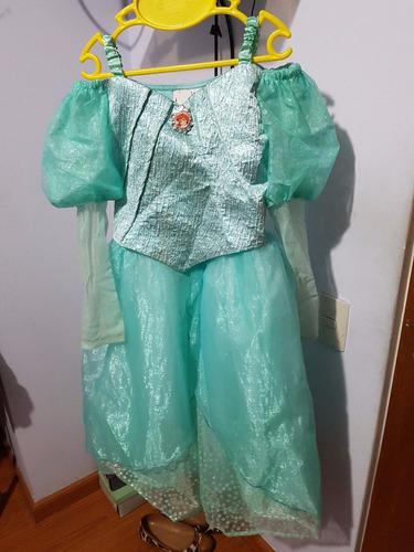disfraz original para niña de la sirenita de disney parks!!!