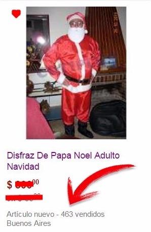 75fbfad10db5e Disfraz Papa Noel Navidad El Mas Vendido De 2017 -   499