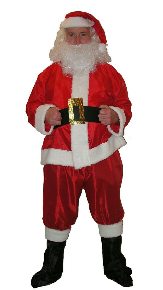 d602aebc1f22f disfraz papa noel traje barba santa claus tafeta - navidad. Cargando zoom.