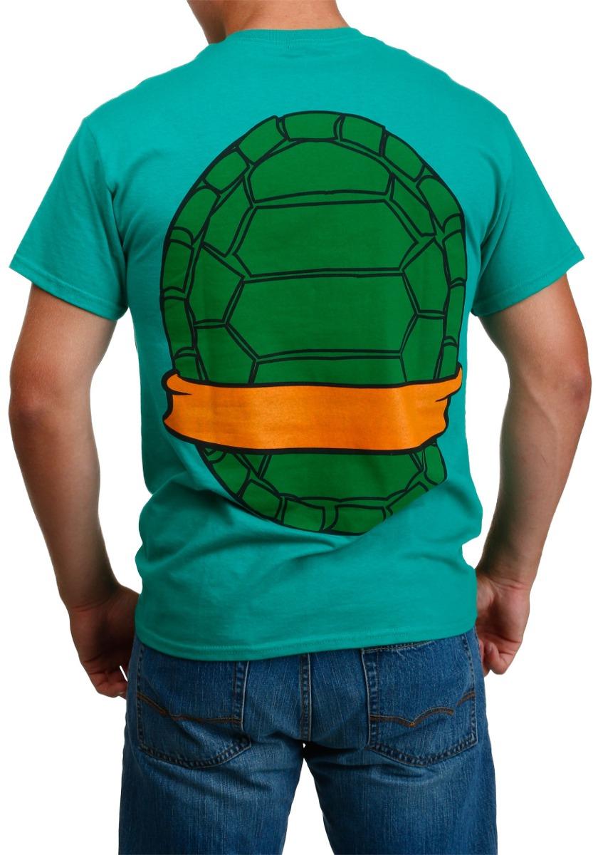65d722afa594a Disfraz Para Adulto Camiseta Miguel Angel Tortugas Ninja -   159.900 en Mercado  Libre