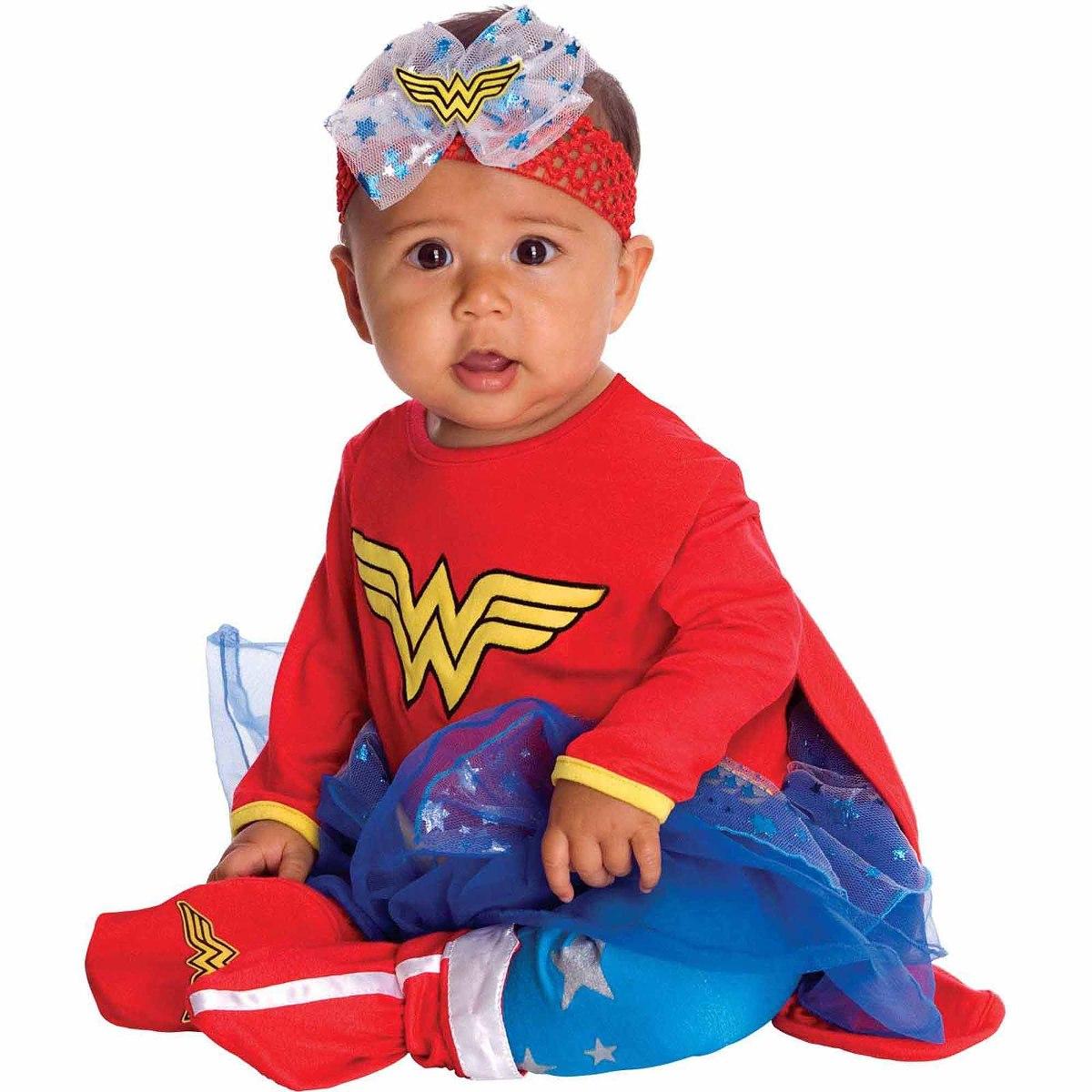 Disfraz Para Bebe De Mujer Maravilla De Halloween Talla 103111