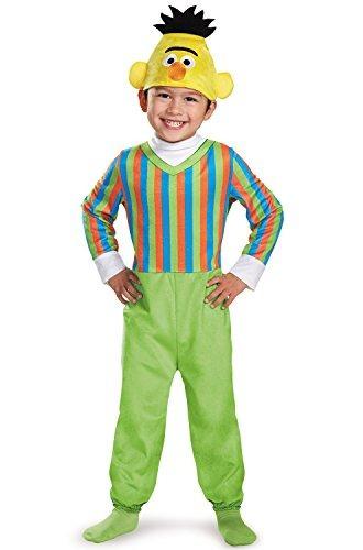 disfraz para bebés bert deluxe infant costume, multi, 6-12