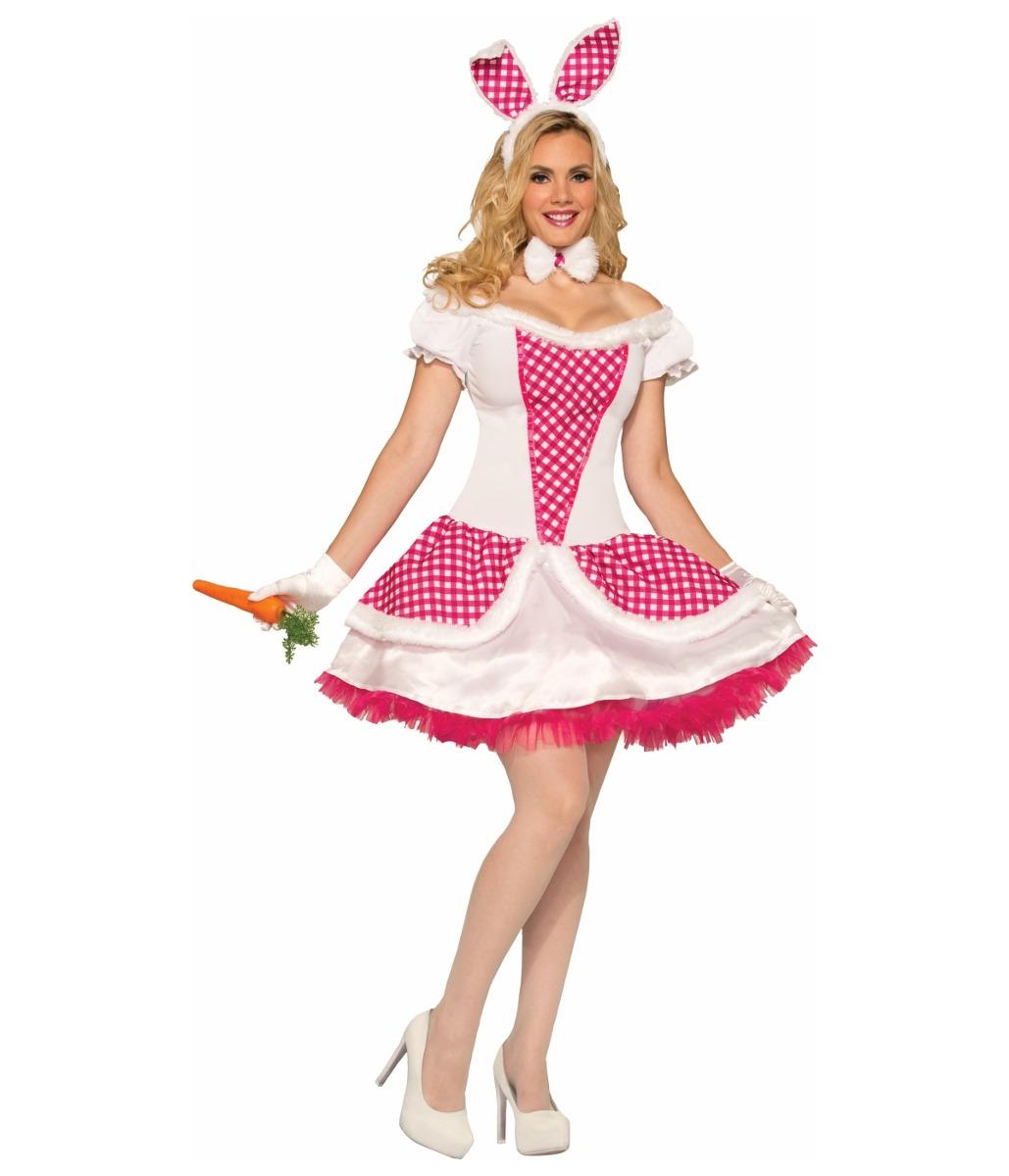 Campo De 550 Mujer Libre Rosado Única 300 Disfraz Talla Conejo Mercado En Sexy Para BqwxnIFX