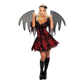 Disfraz Para Mujer Vampiresa Talla Medium Halloween Nuevo