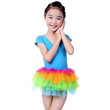 disfraz para niña anleolife muchacha del arco iris faldas d