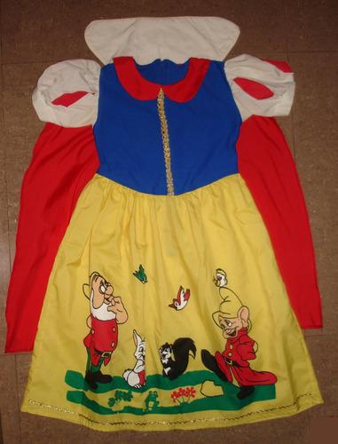 disfraz para niña blanca nieves princesas de disney