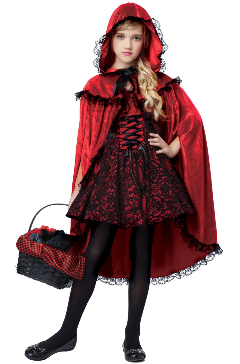 Disfraces Para Halloween De Caperucita Roja.Disfraz Para Nina Caperucita Roja Talla Xsmall Halloween