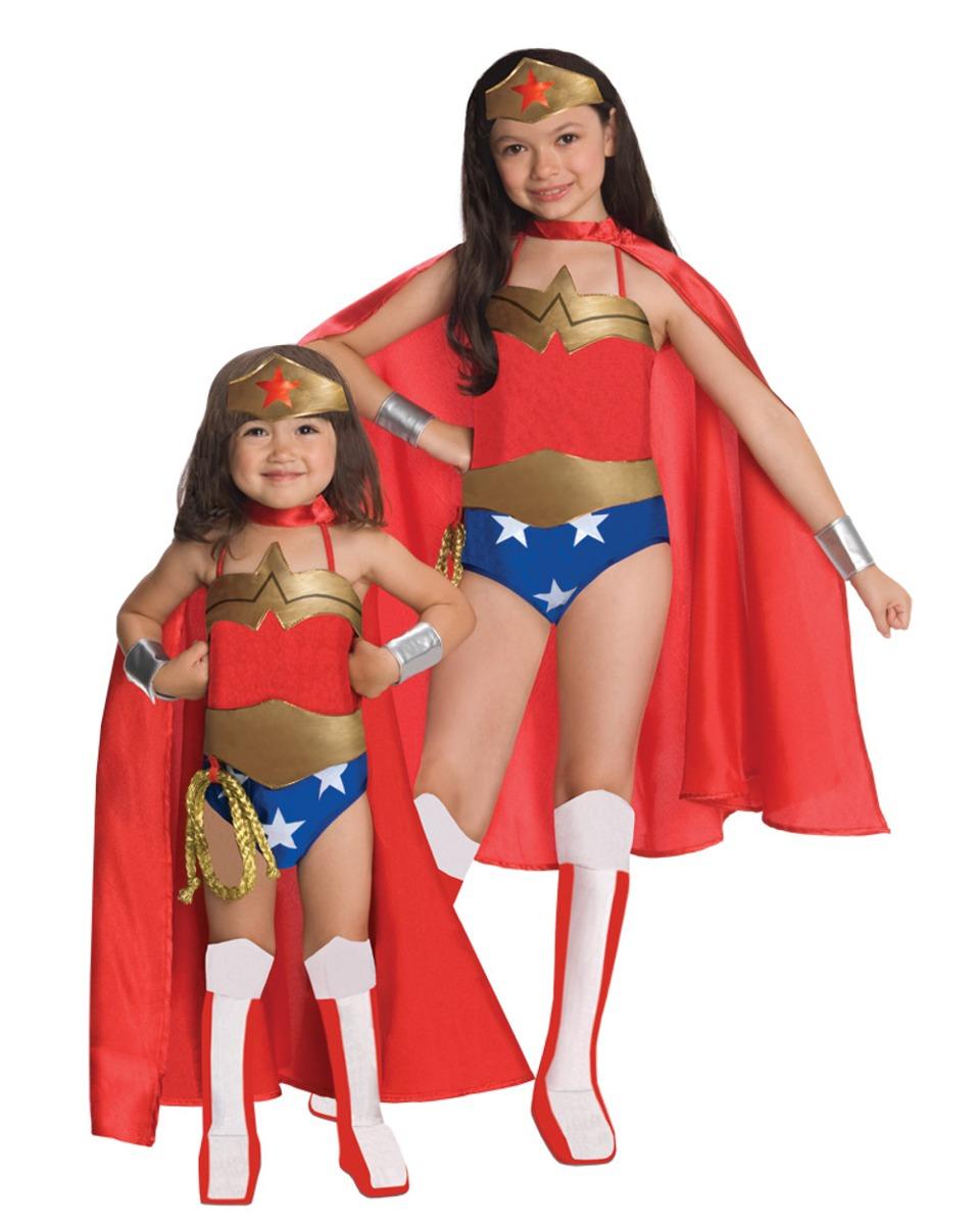 Disfraz Para Niña De Mujer Maravilla Talla Large- -   131.550 en ... 273b608896f