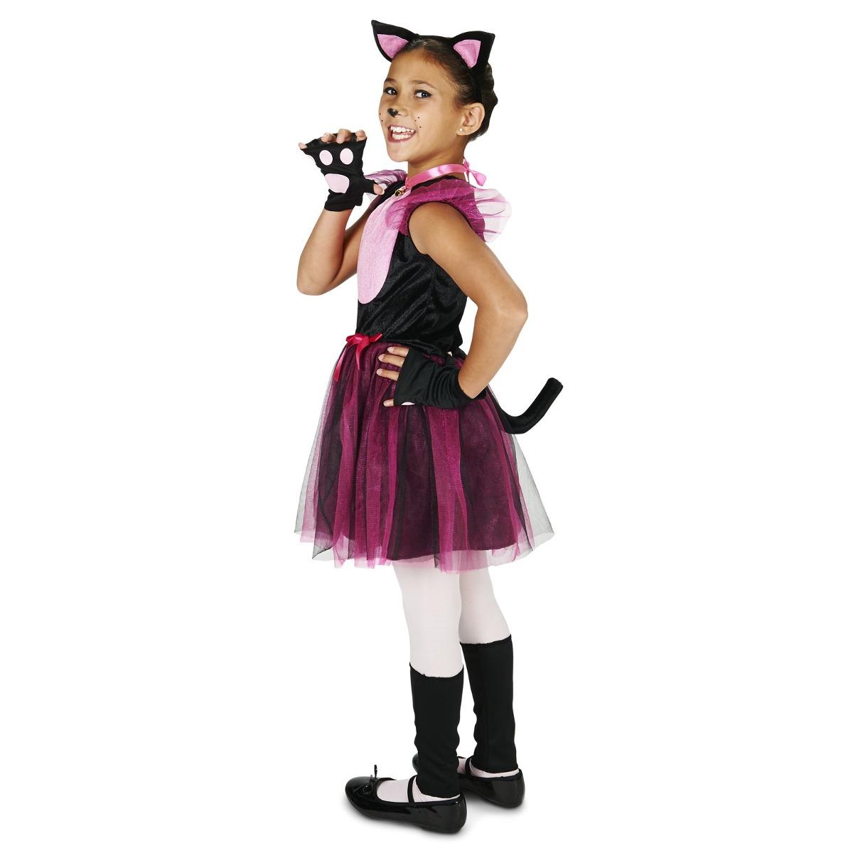 Disfraz Para Nia Gato Halloween 6807 en Mercado Libre