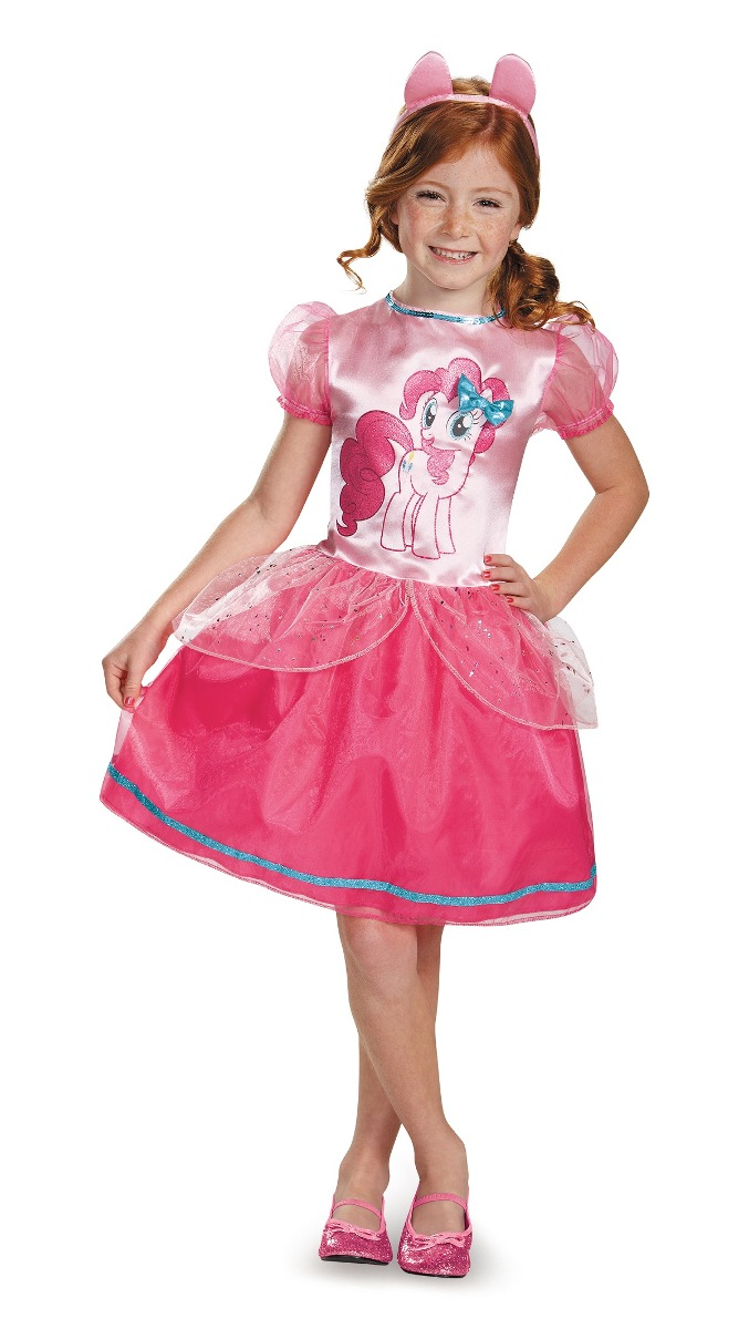 81dba12a0 disfraz para niña pinkie pie mi pequeño pony - halloween. Cargando zoom.