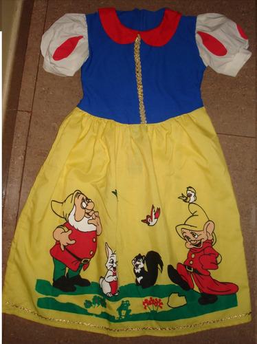 disfraz para niña princesas de disney
