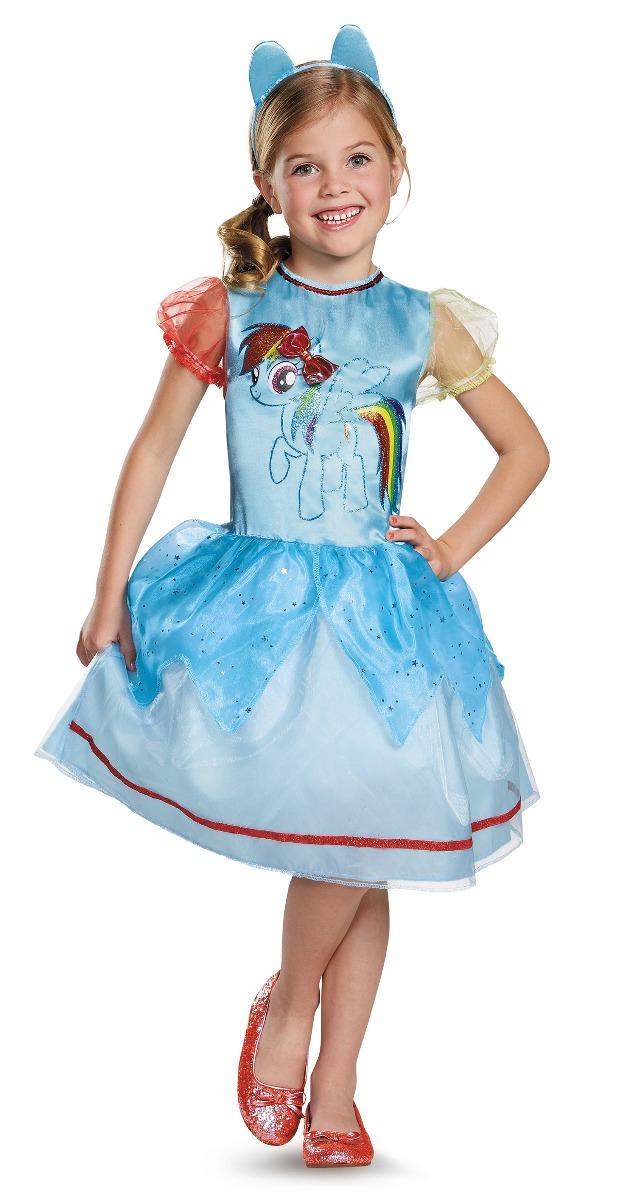ffbae46ea disfraz para niña rainbow dash my little pony clásico. Cargando zoom.