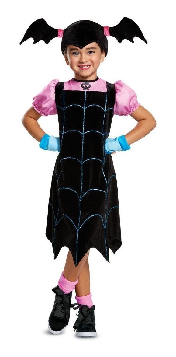 Disfraz Para Niña Vampirina Vestido Halloween Original