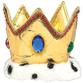 disfraz para niño amscan partido majestuoso rey corona, 6