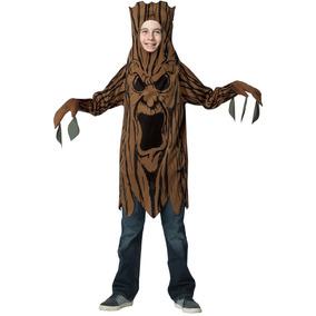 Disfraz Para Nino Arbol De Miedo Talla Unica Halloween