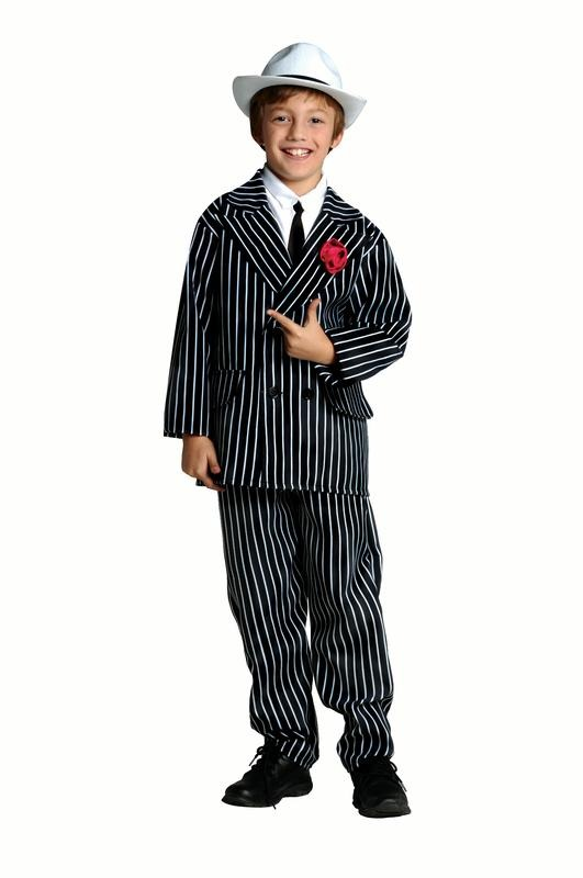 3b1a9d664 Disfraz Para Niño Gánster Talla S (4-6) - Halloween -   5.455