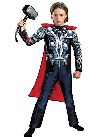 disfraz para niño traje de thor vengadores 2 del muchacho