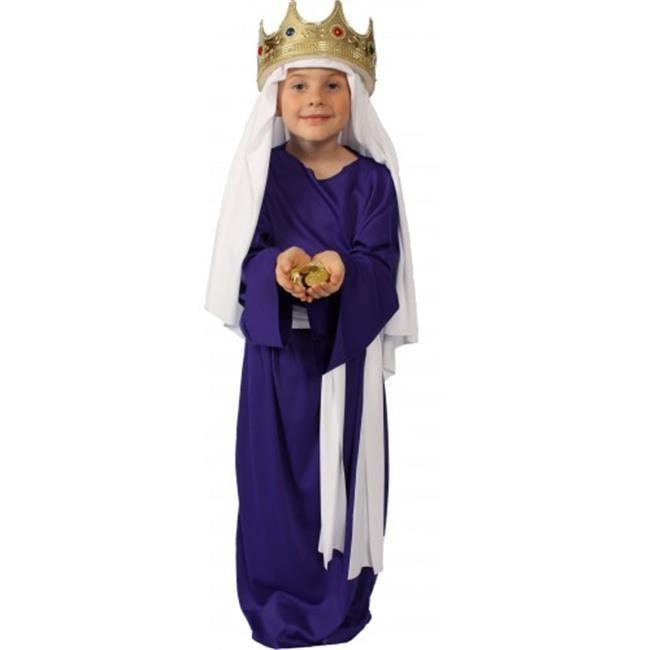 Disfraz Para Niño Traje Historia De Cristo, Púrpura Talla - $ 86.550 ...