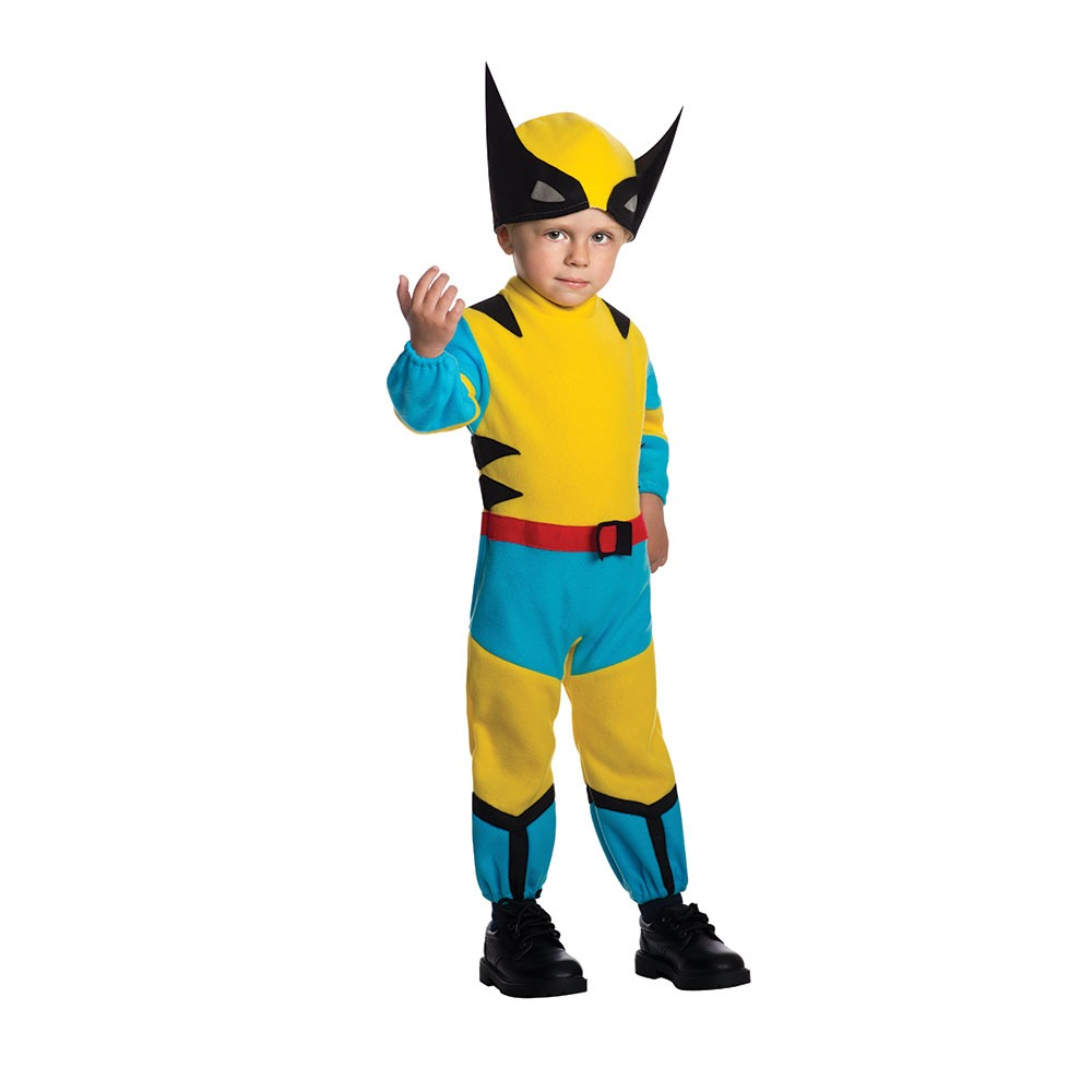 Disfraz Para Niño Wolverine X-men Talla 2t-4t - Halloween -   2.018 ... fffa6ca0b2a5