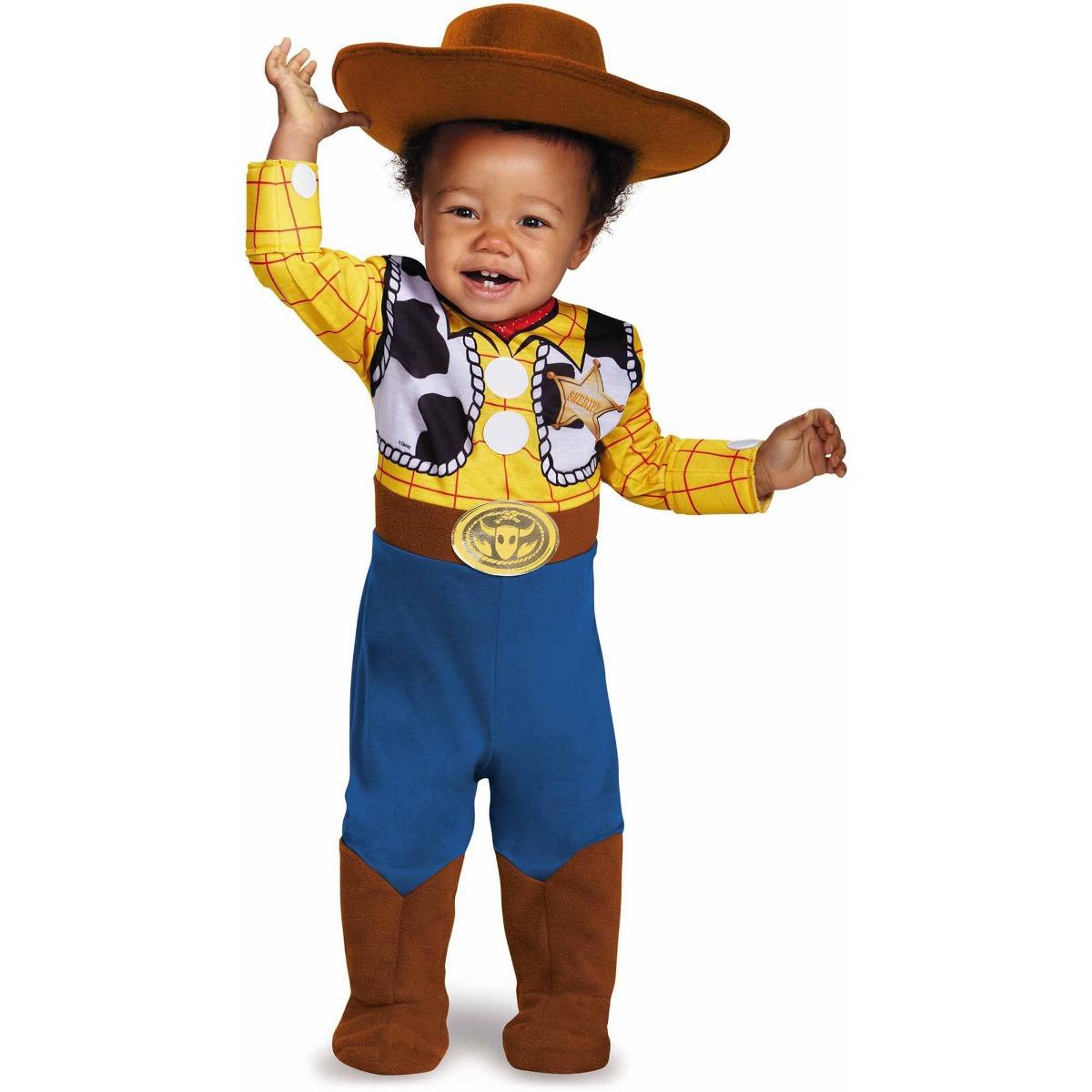 Disfraz Para Niño Woody Toy Story - Halloween -   2 4a53ae50642