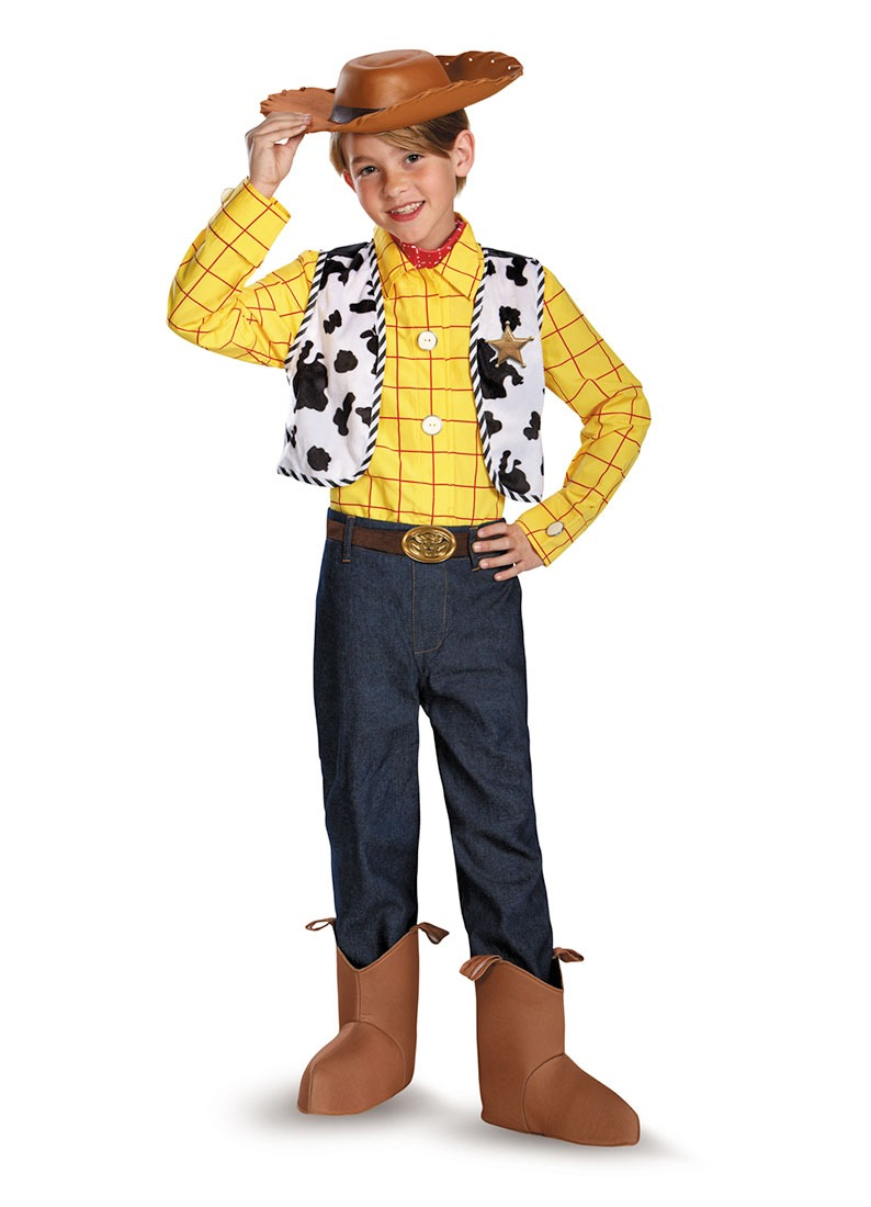 Disfraz Para Niño Woody Toy Story Talla S (4-6) - Halloween ... 063e21333bc