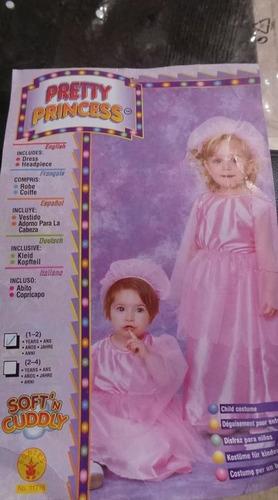 disfraz petty princesas  talla 1-2 años