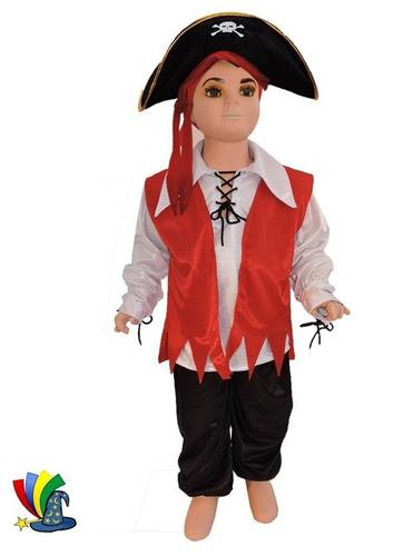 disfraz pirata para niño halloween festival escolar
