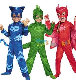Pijamas Pj Gecko En Disfraz O Heroes Cat Masks Ululette Boy WHe2YE9DIb