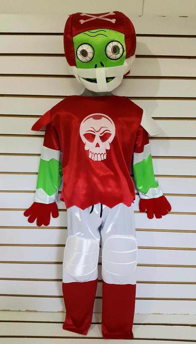 Disfraz Plantas Vs Zombies Deportista Futbol Americano